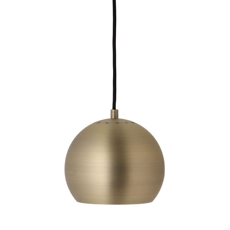 Ball Ø18 taklampa matt antik mässing