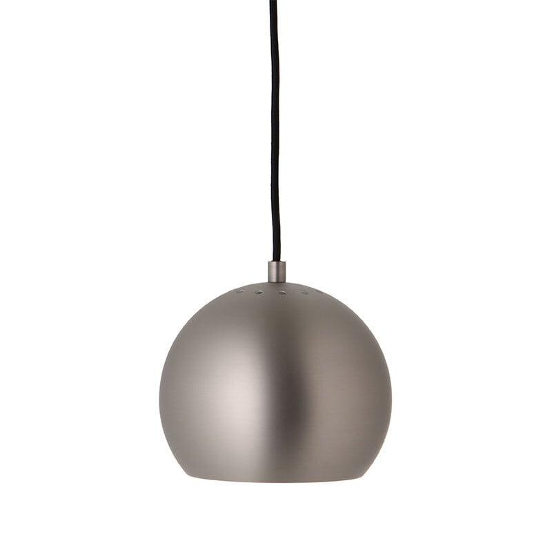 Ball Ø18 taklampa  matt borstad satin