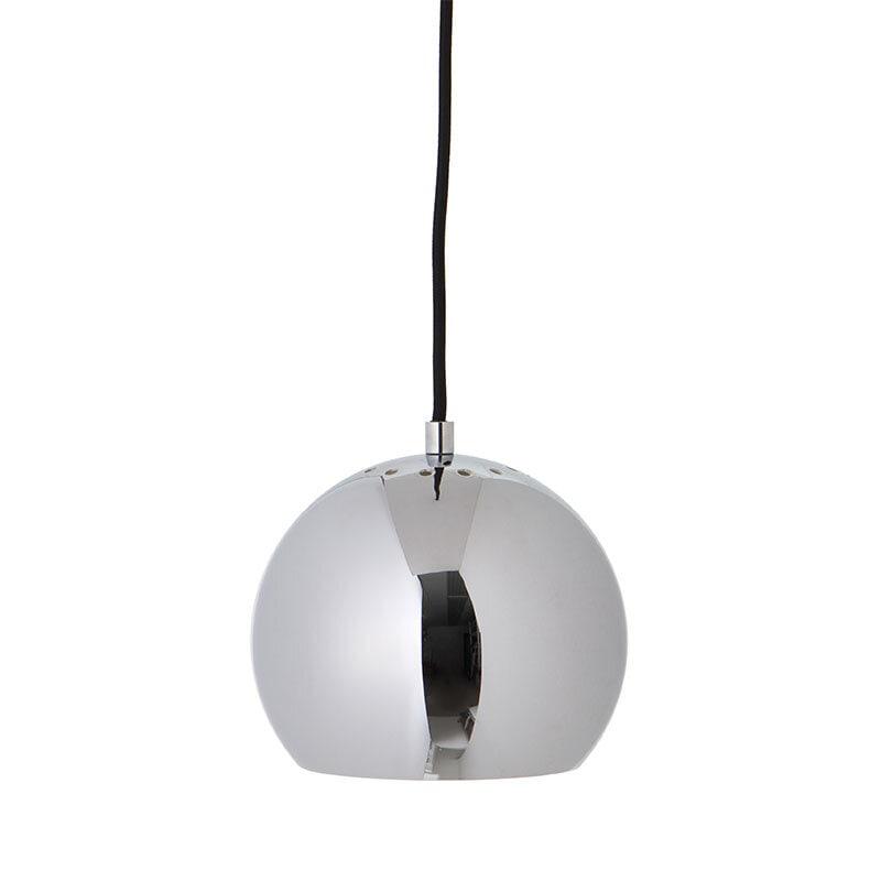 Ball Ø18 taklampa blank krom
