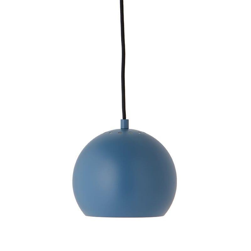Ball Ø18 taklampa matt petrolium blå