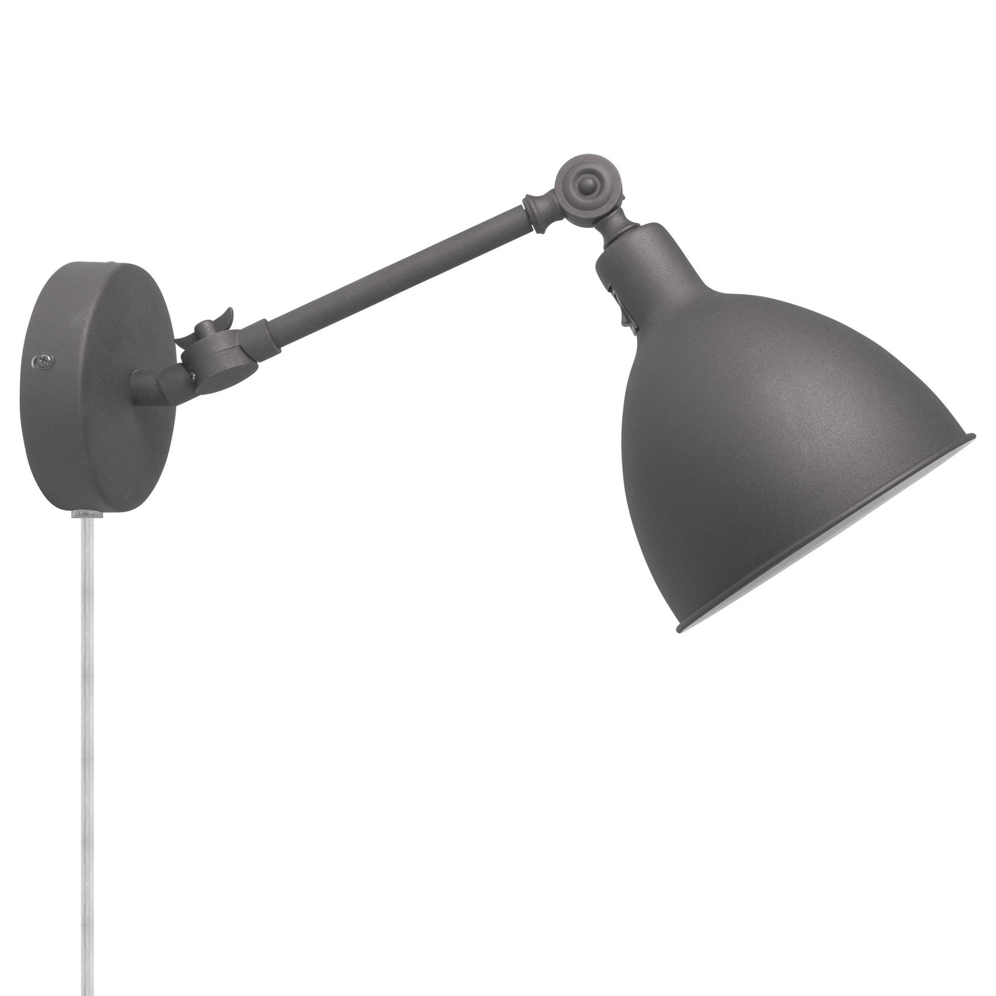 Bazar Mini Vägglampa grå