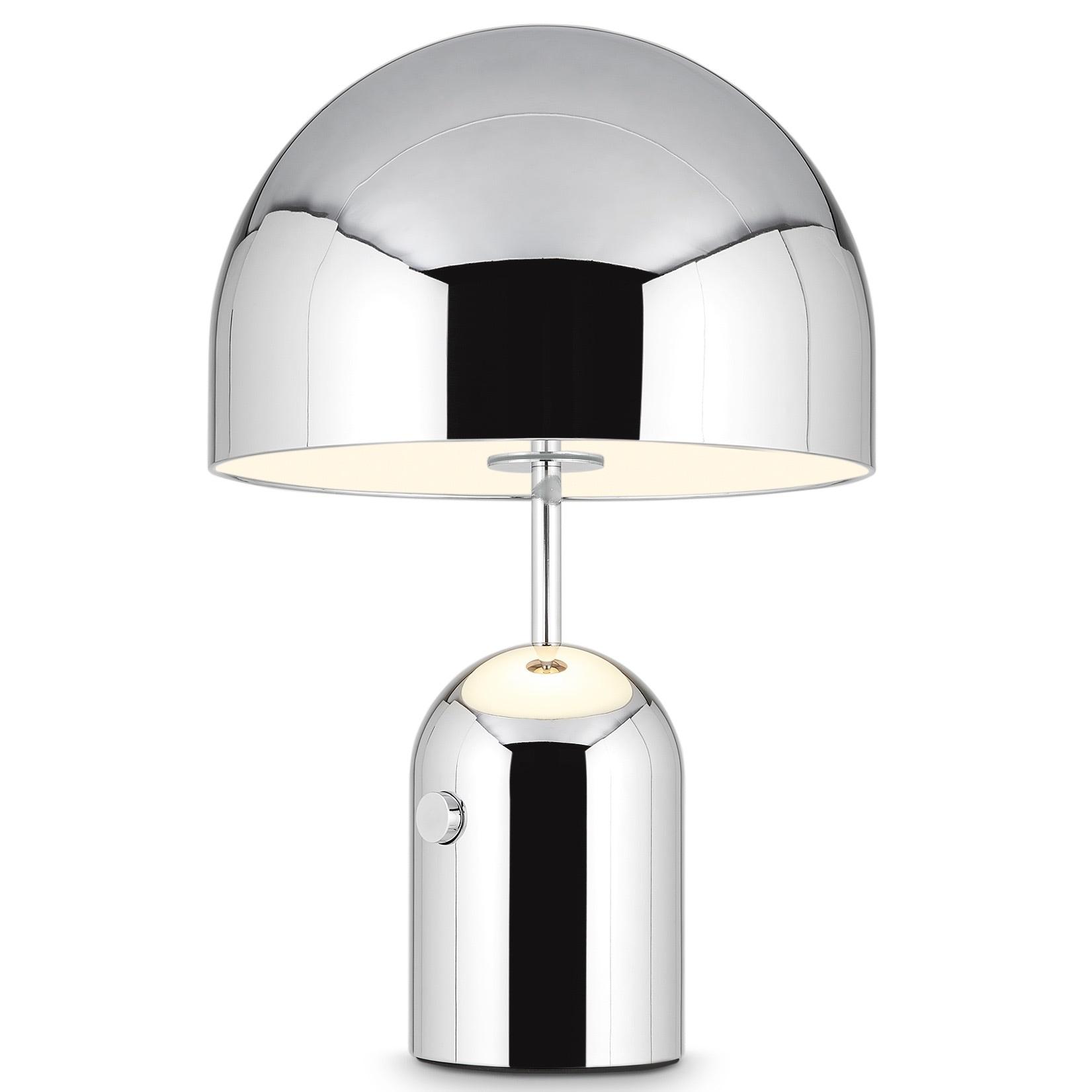 Bell bordslampa large krom