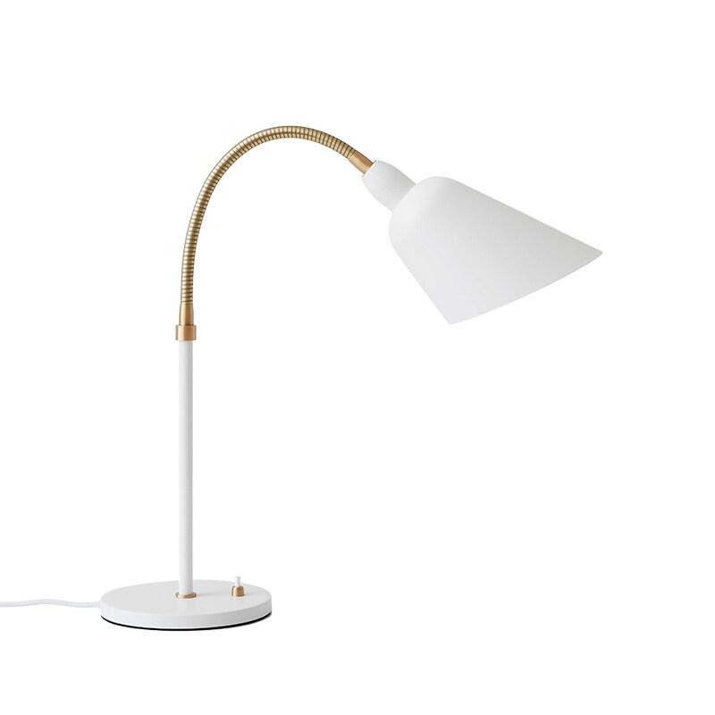 Bellevue AJ8 bordslampa white/brass