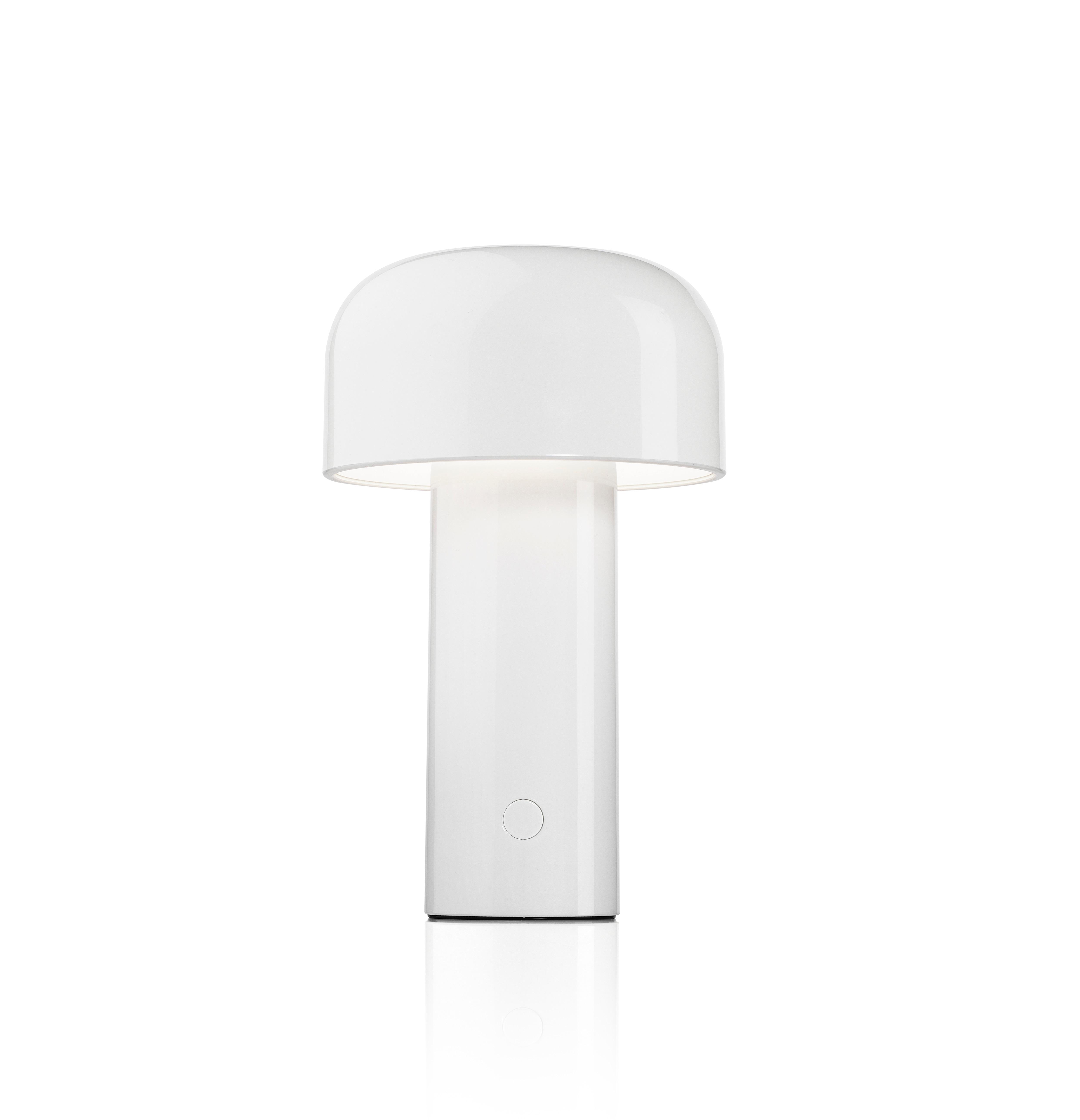Bellhop bordslampa vit