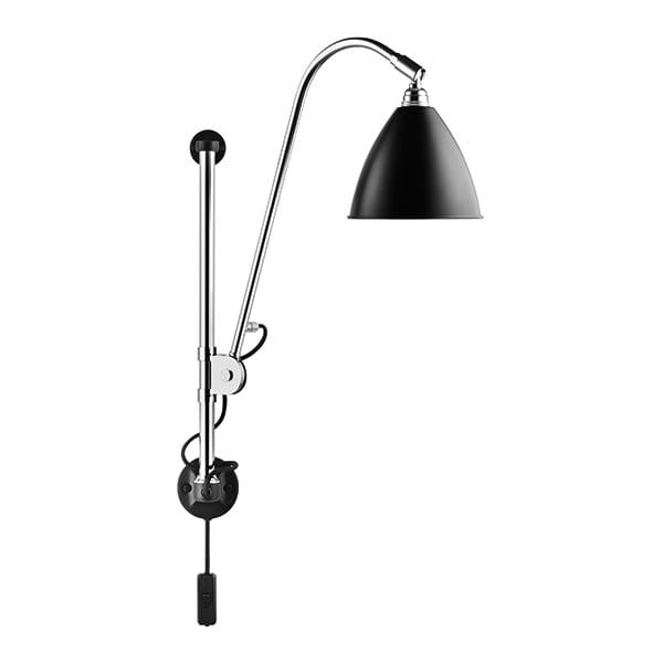 BL5 Vägglampa black/chrome