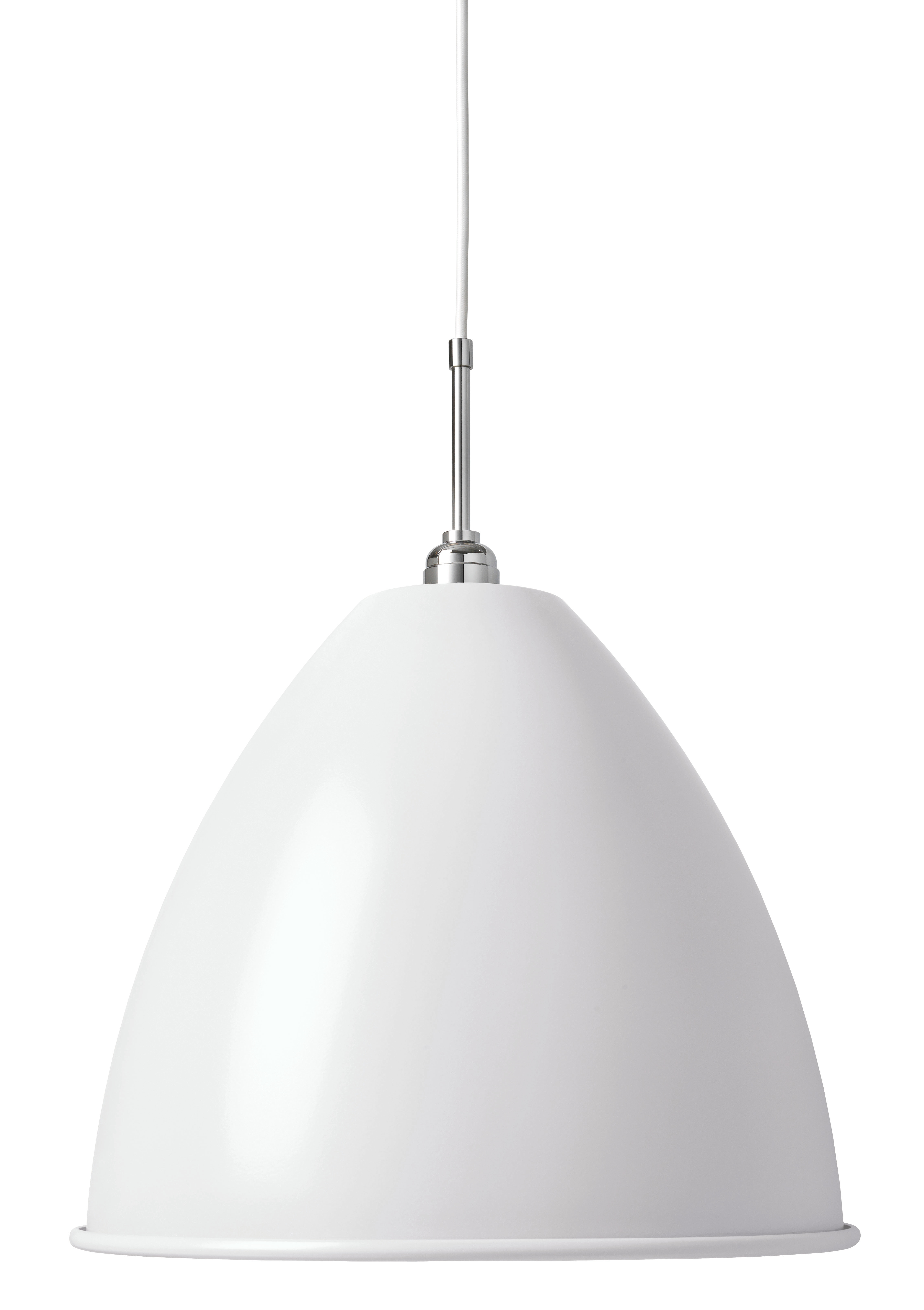 BL9 L Taklampa white/chrome