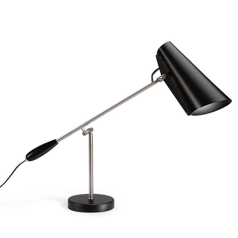 Birdy Bordslampa svart/stål