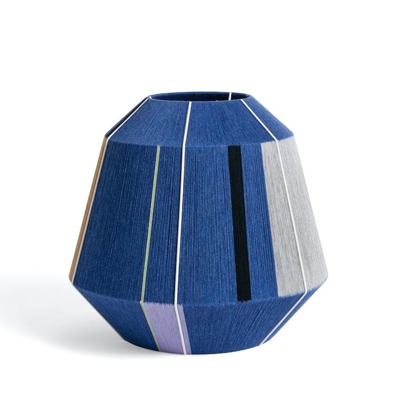 Bonbon Ø50 skärm tak/bordslampa blå toner