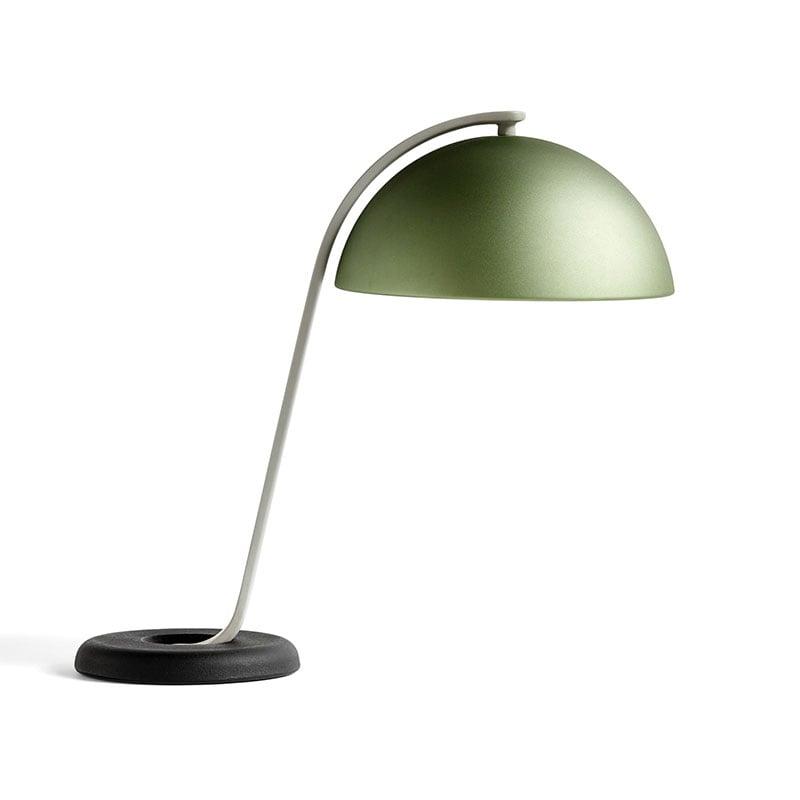 Cloche bordslampa mint green