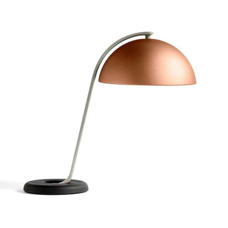 Cloche bordslampa mocca