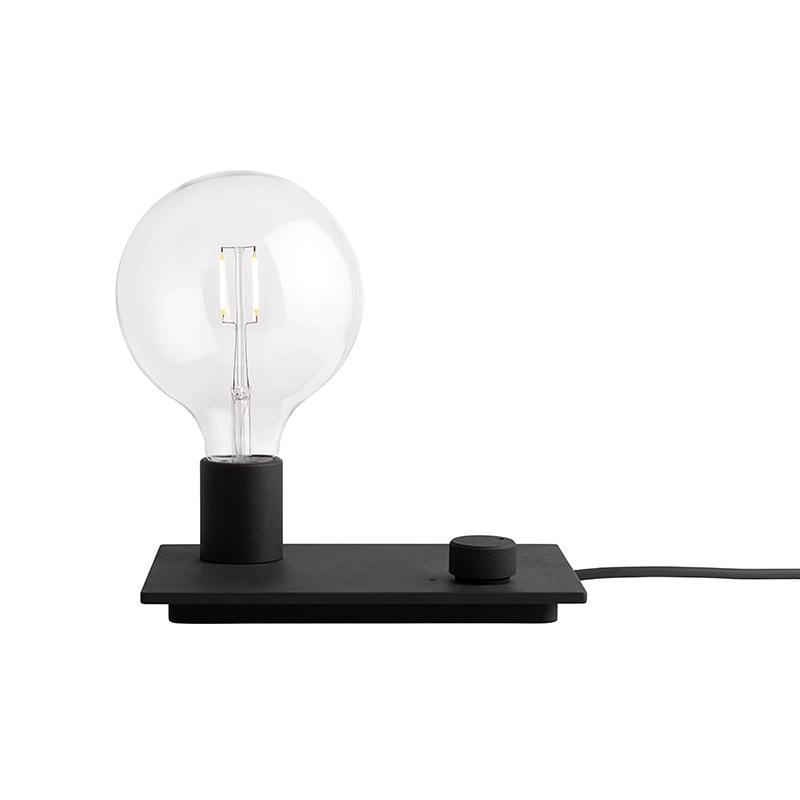 Control bordslampa Black