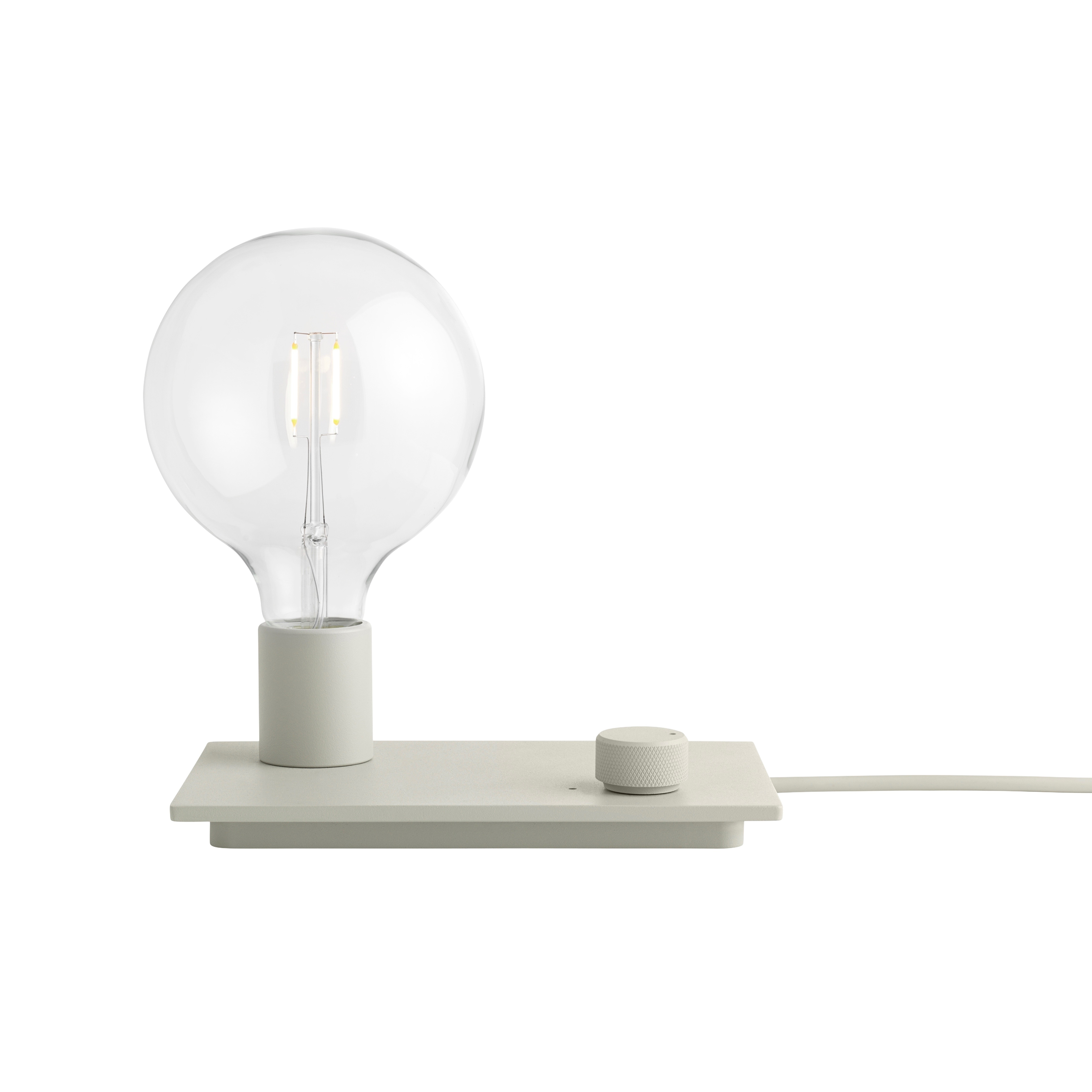Control bordslampa grey