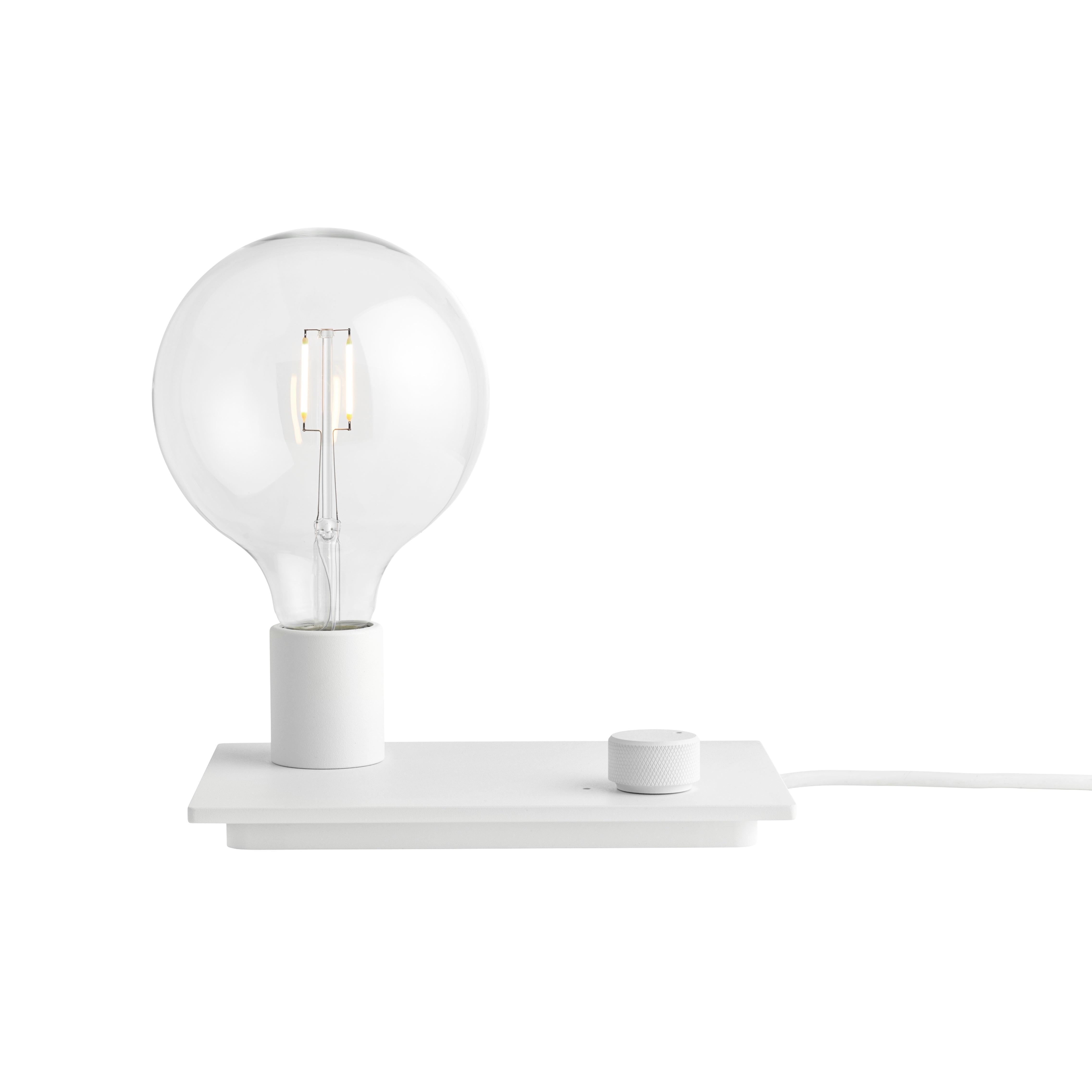 Control bordslampa white