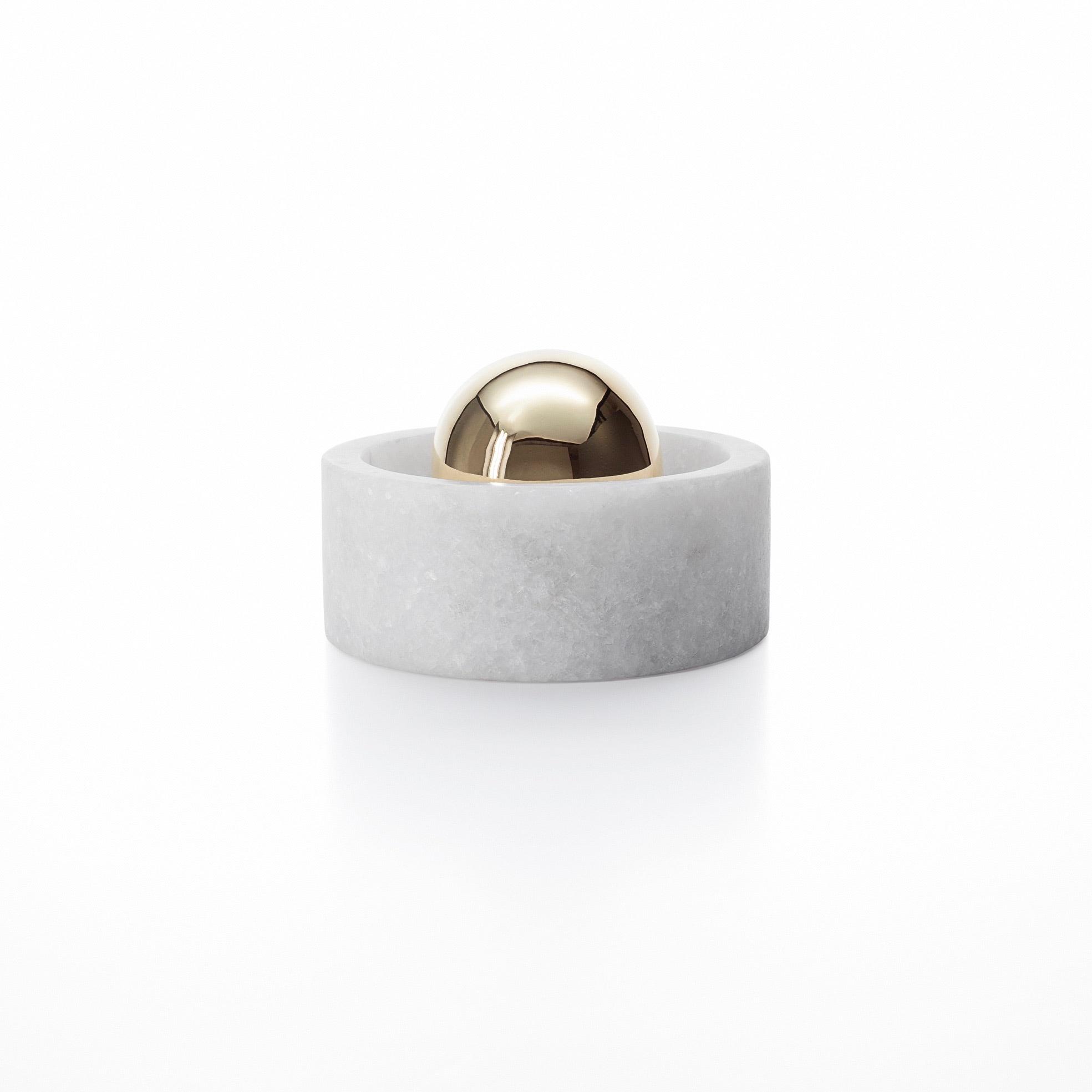 Stone spice grinder