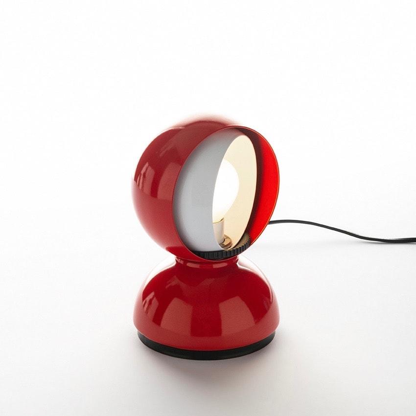 Eclisse bord/vägglampa röd