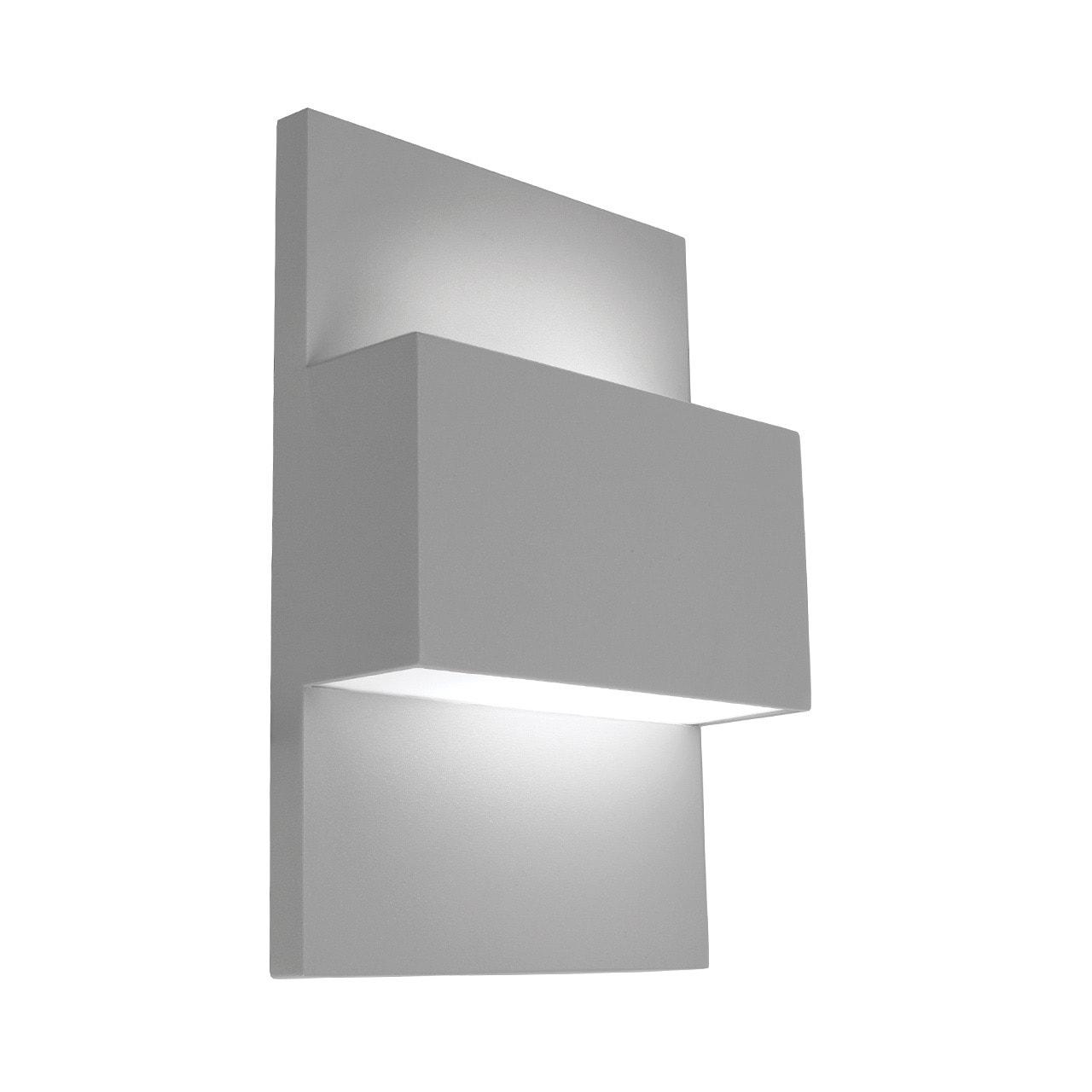 Geneve vägglampa Aluminium