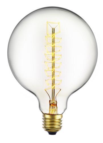 Glödlampa glob 40W E27 spiral