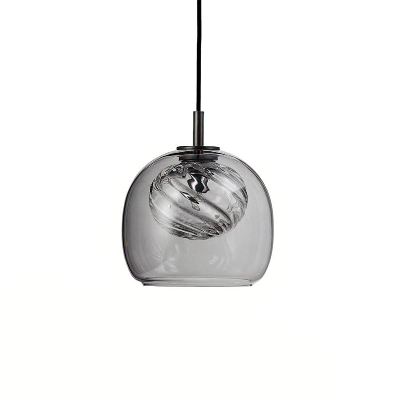 Inside taklampa grå/klar