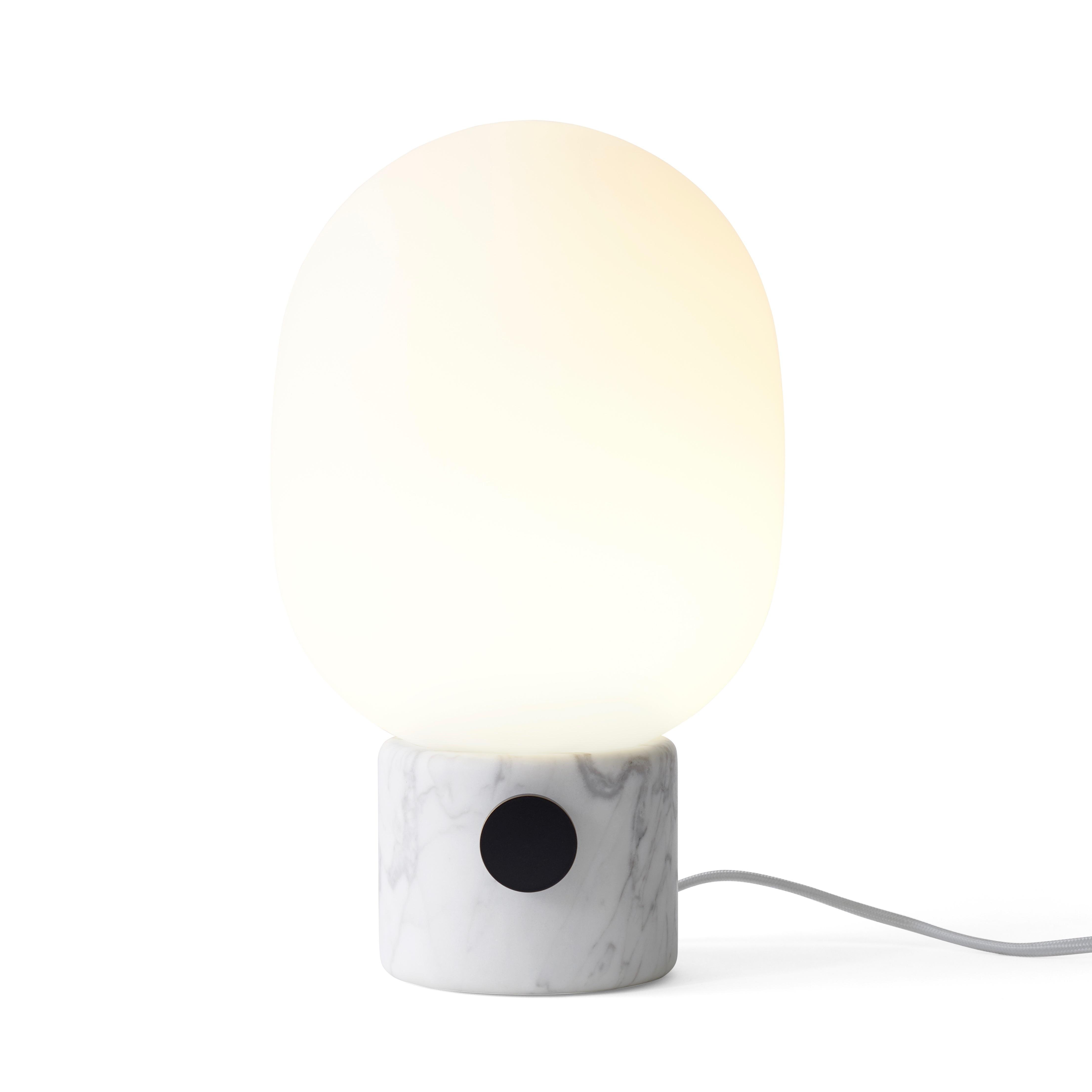 JWDA Bordslampa vit marmor
