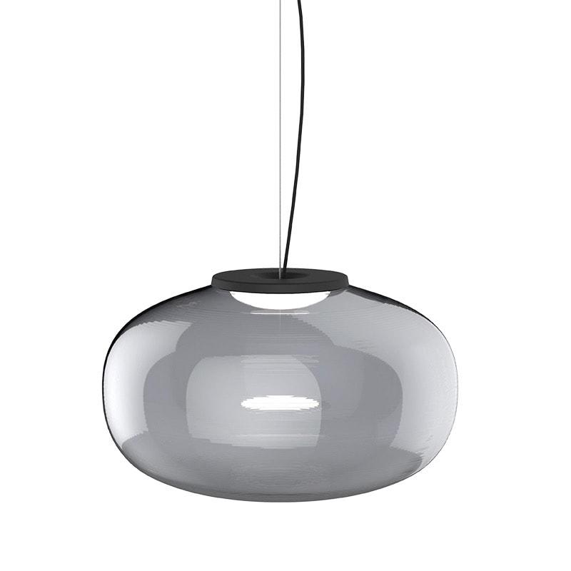Karl-Johan-Pendant-Smoked-Glass,-large