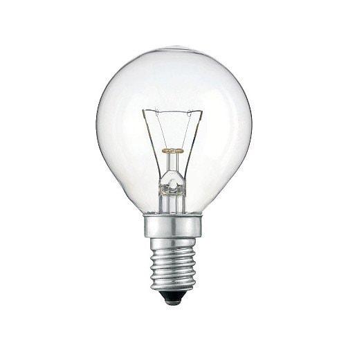 Glödlampa Klot E14 15W klar