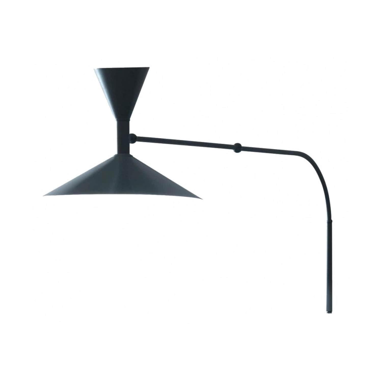 Lampe de Marseille mini vägglampa svart
