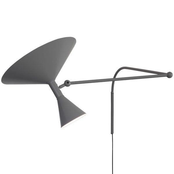 Lampe de Marseille vägglampa grå