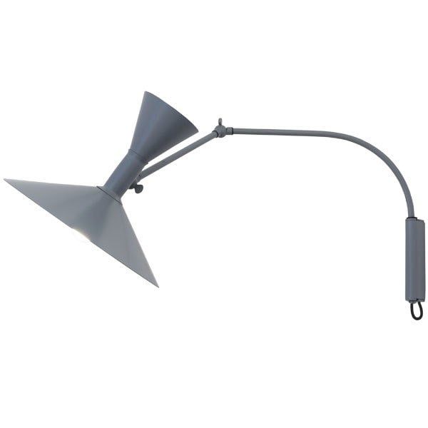 Lampe de Marseille mini vägglampa grå