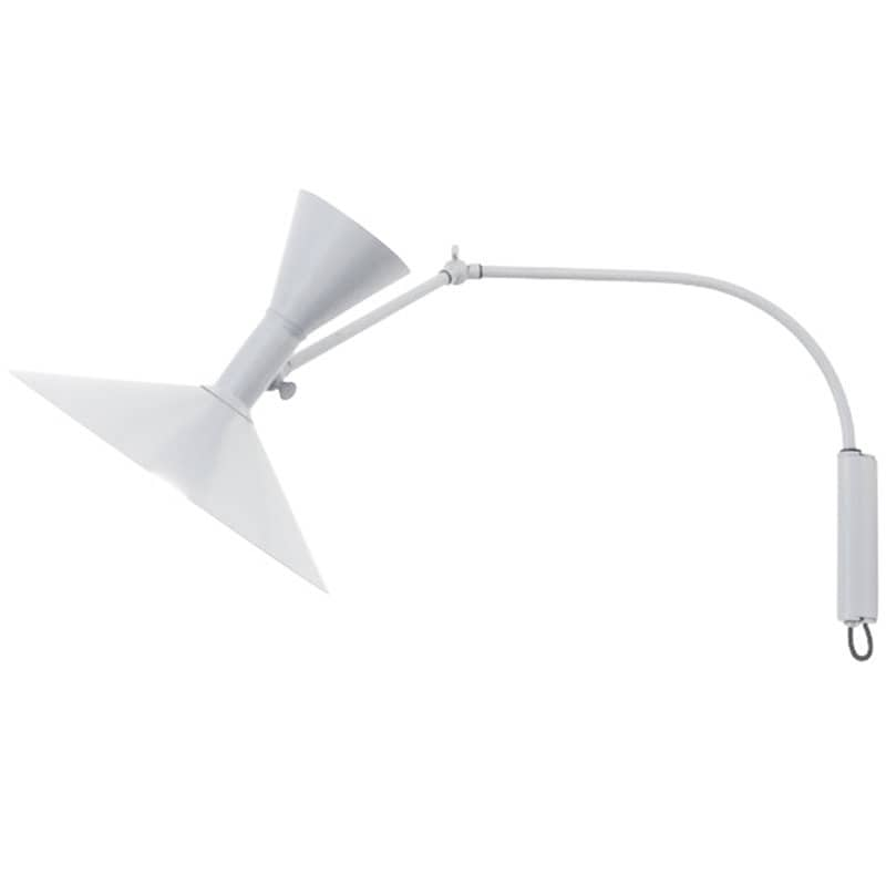 Lampe de Marseille mini vägglampa vit