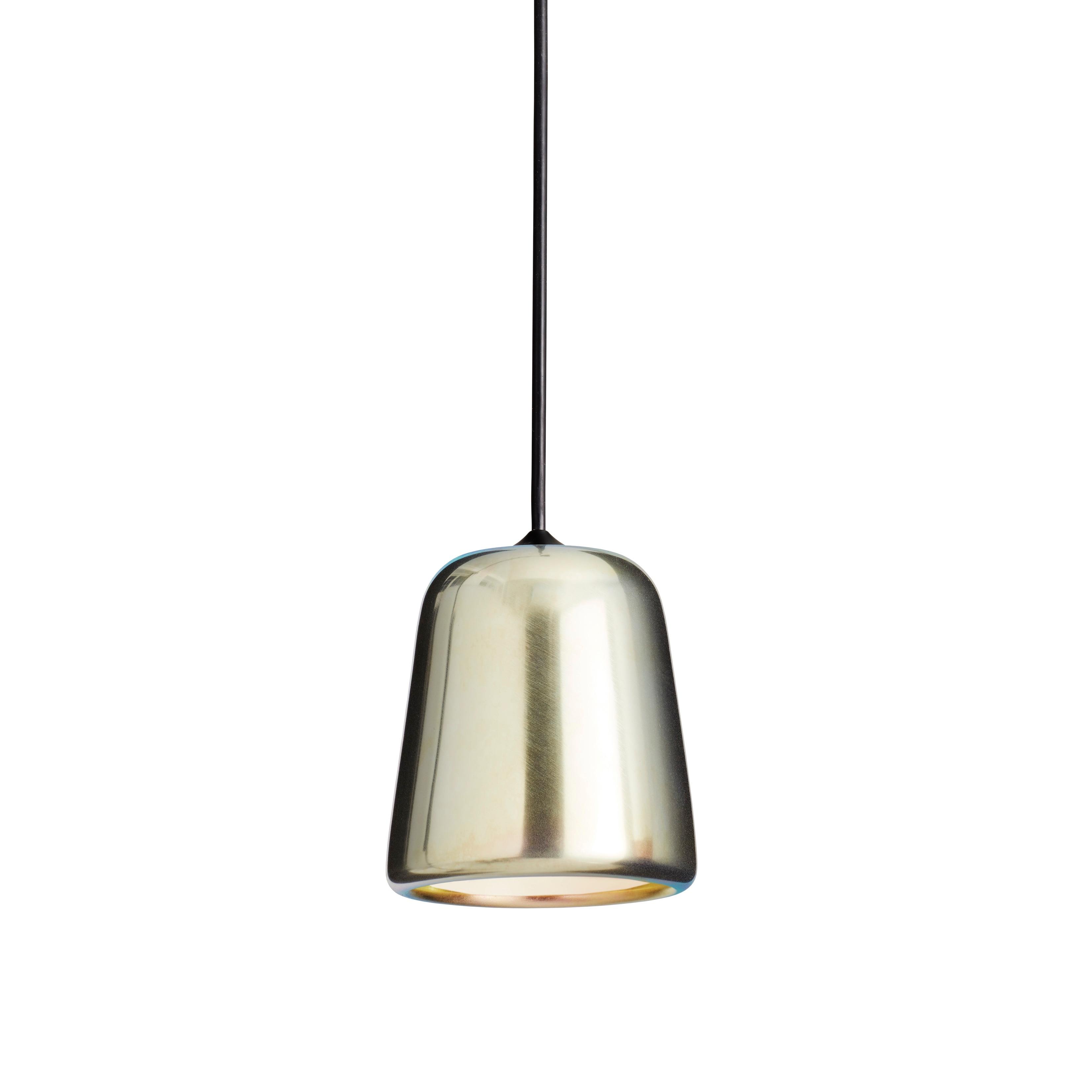 Material taklampa gult stål/svart