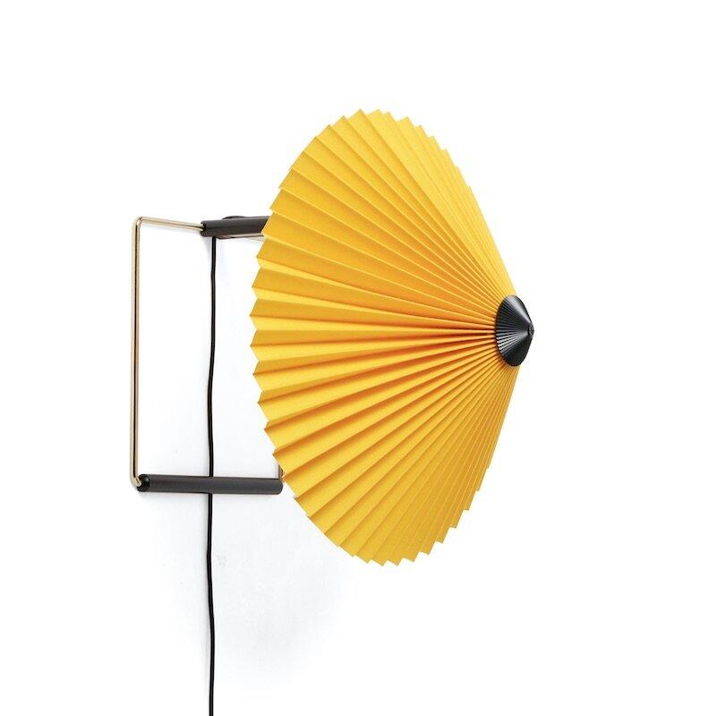 Matin Ø30 vägglampa gul