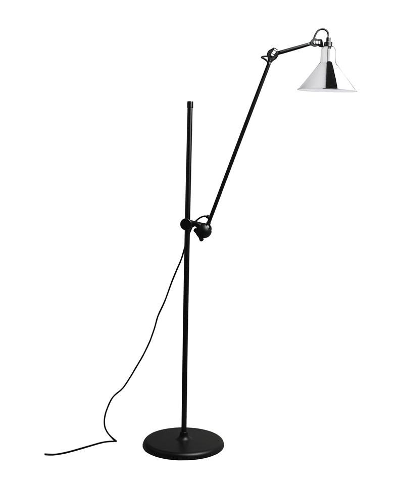 N°215 Golvlampa Krom/svart