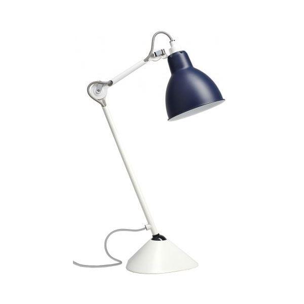 N°205 Bordslampa Blål/Vit