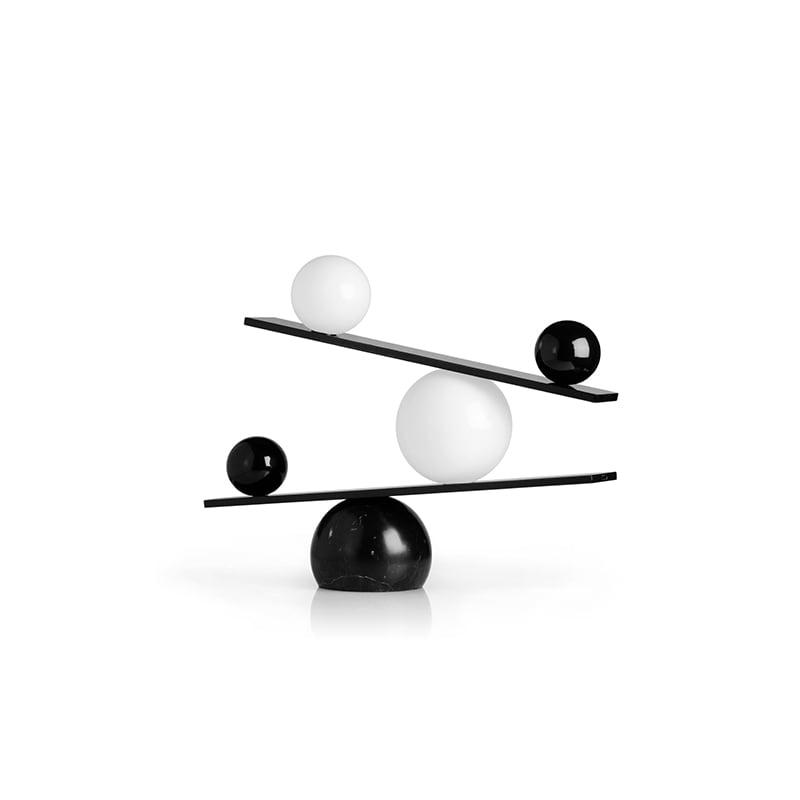 Balance bordslampa svart