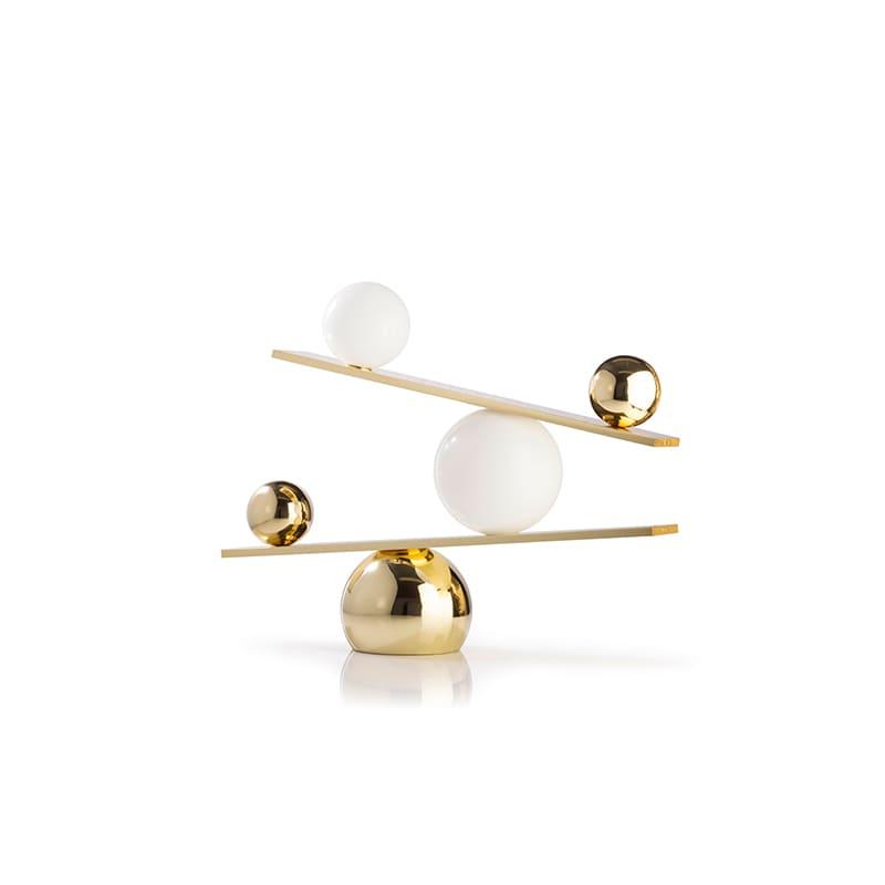 Balance bordslampa mässing