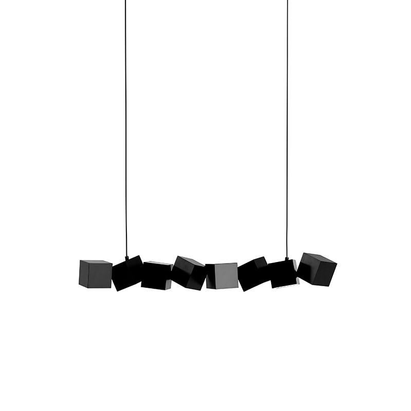 Blockchain taklampa svart