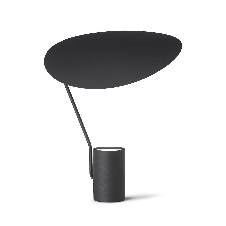 Ombre bordslampa svart