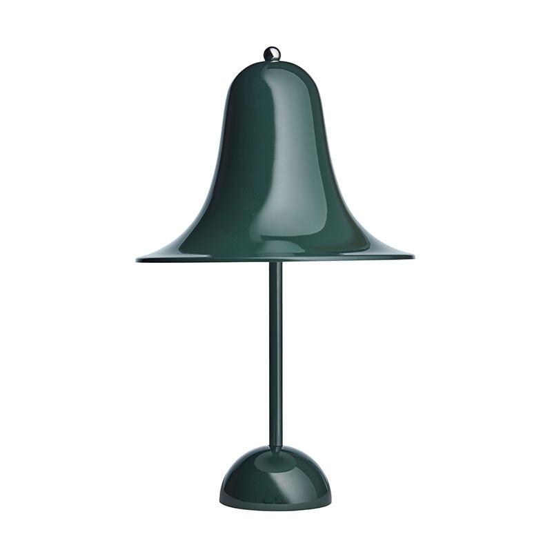 Pantop bordslampa mörk grön