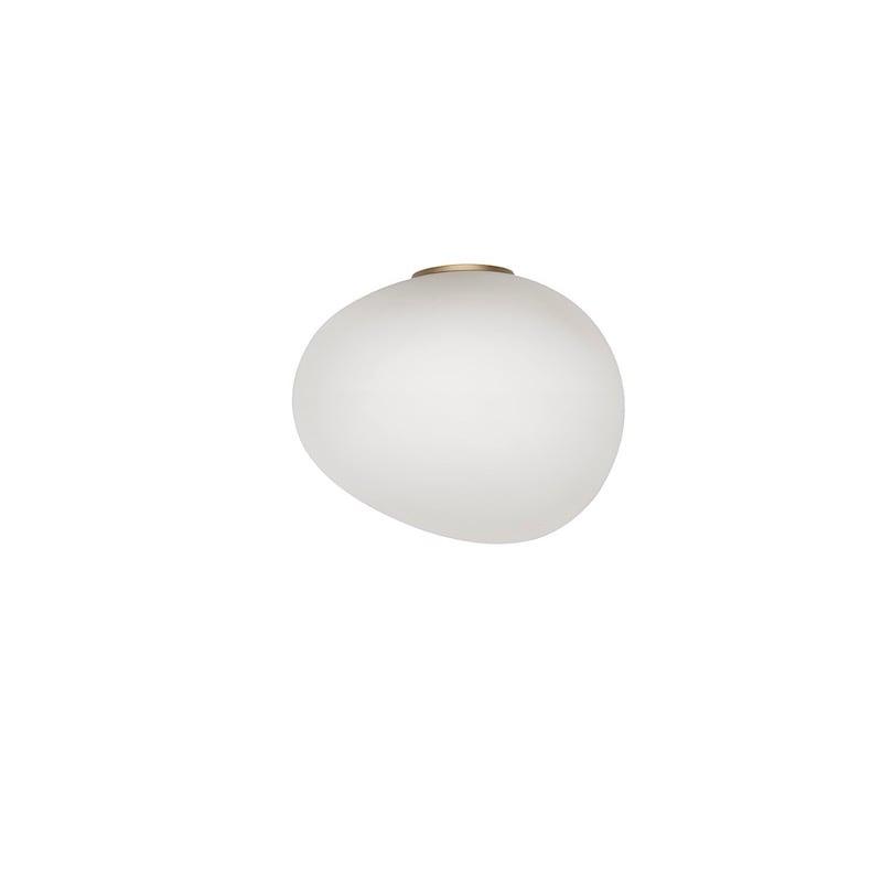Gregg piccola vägglampa/plafond guld/vit
