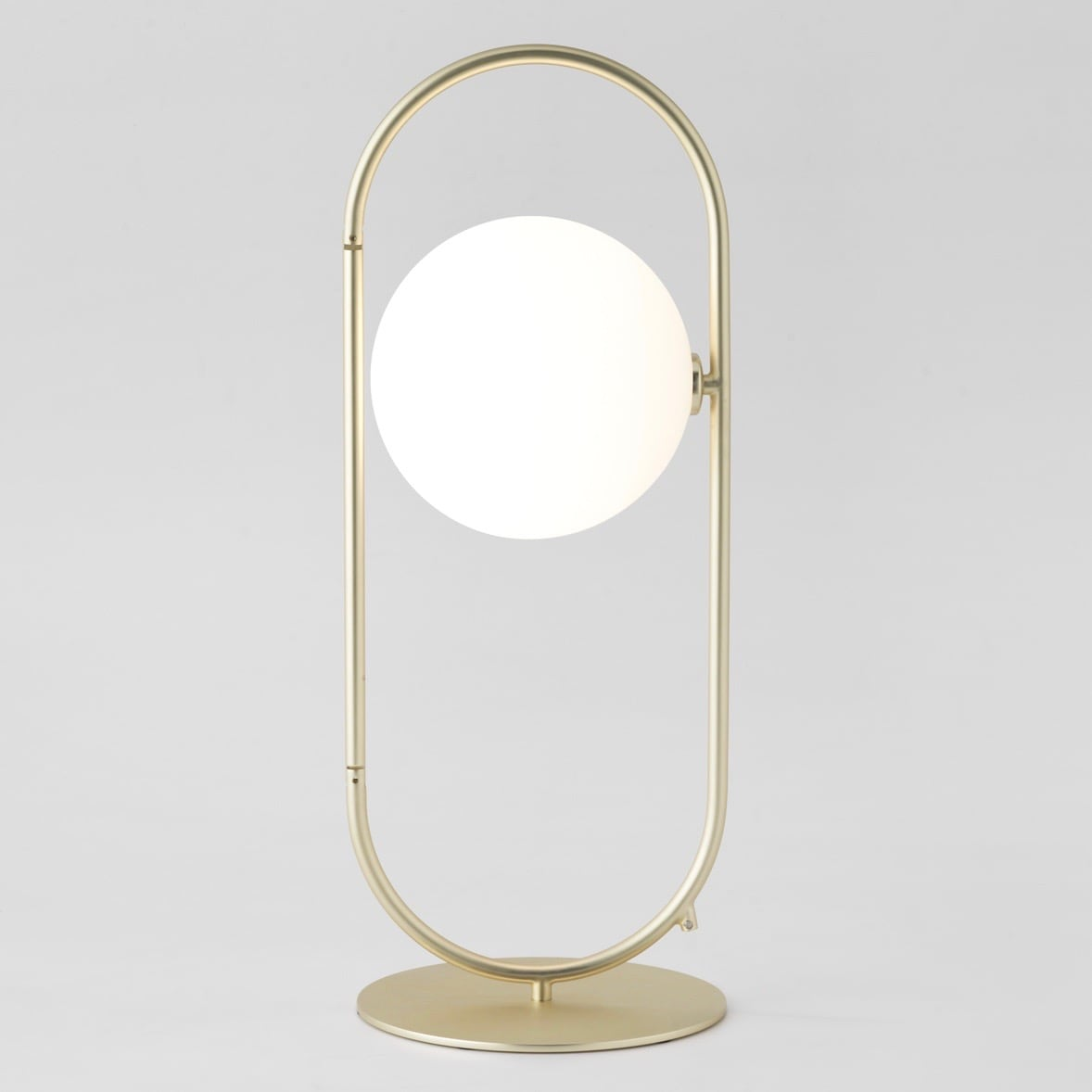Abbacus bordslampa matt guld/opal