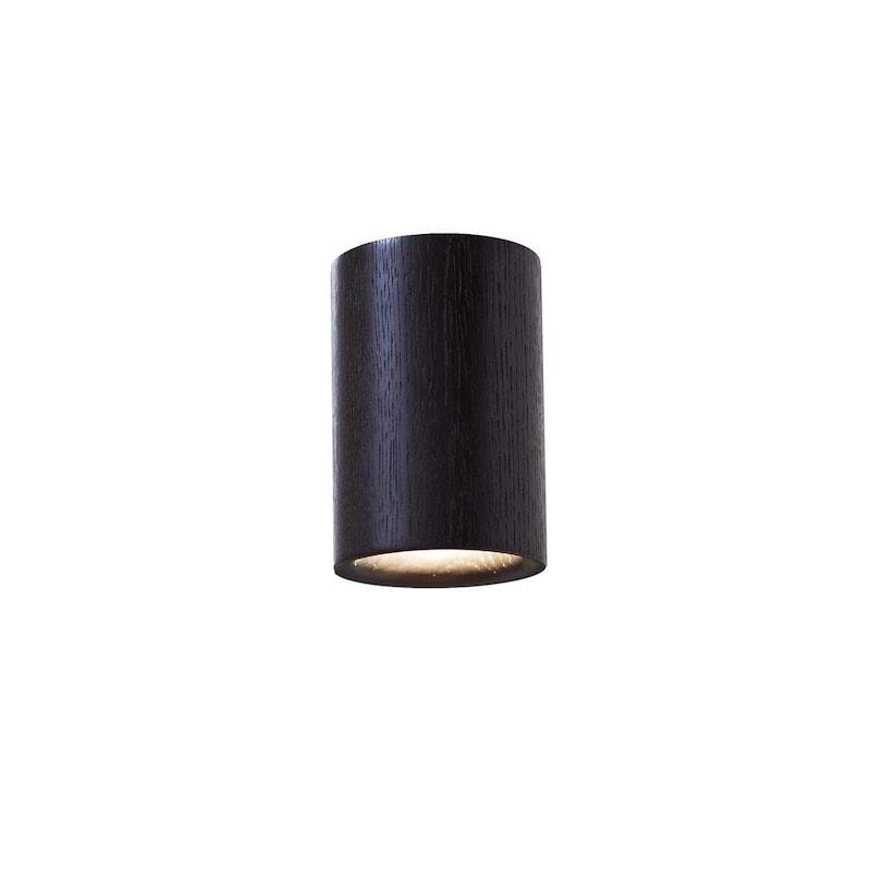 Solid cylinder plafond svart