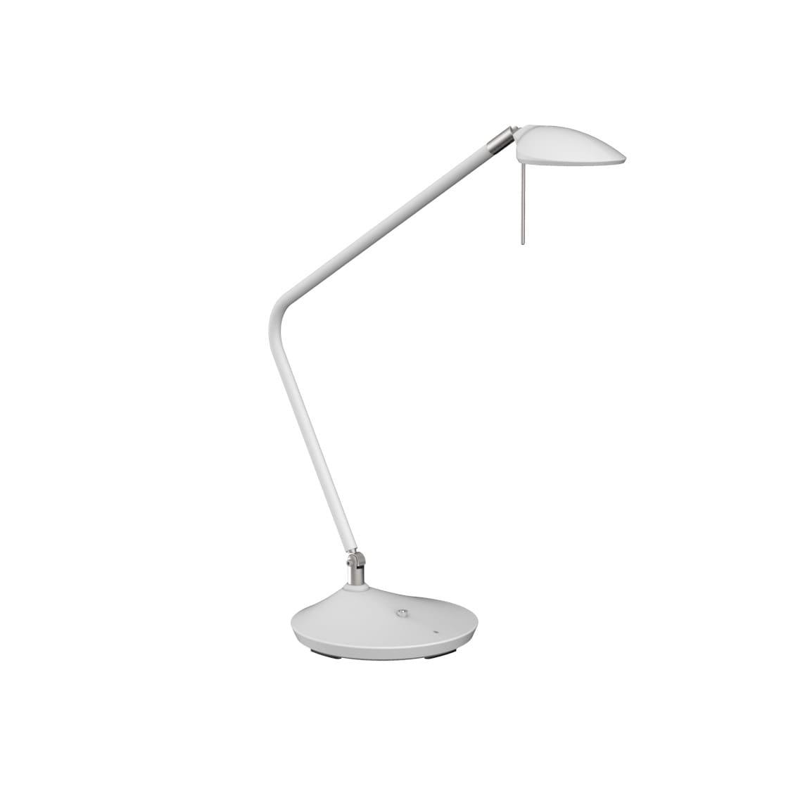 Toreno bordslampa vit/nickel