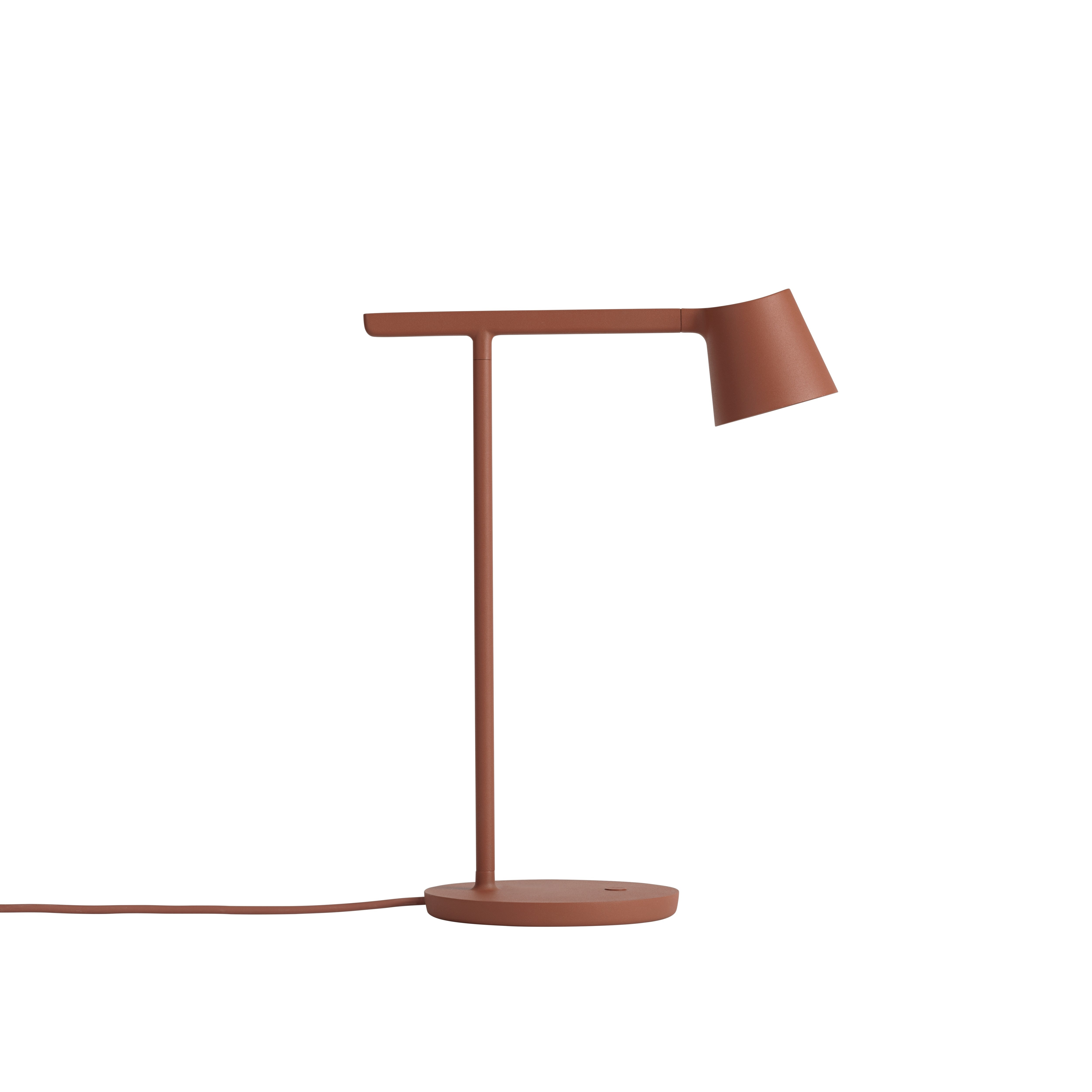 Tip bordslampa kopparbrun