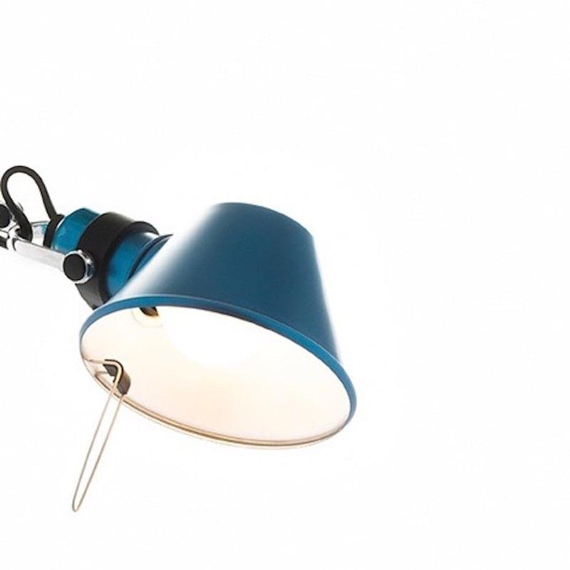Tolomeo micro Pinza klämlampa blå
