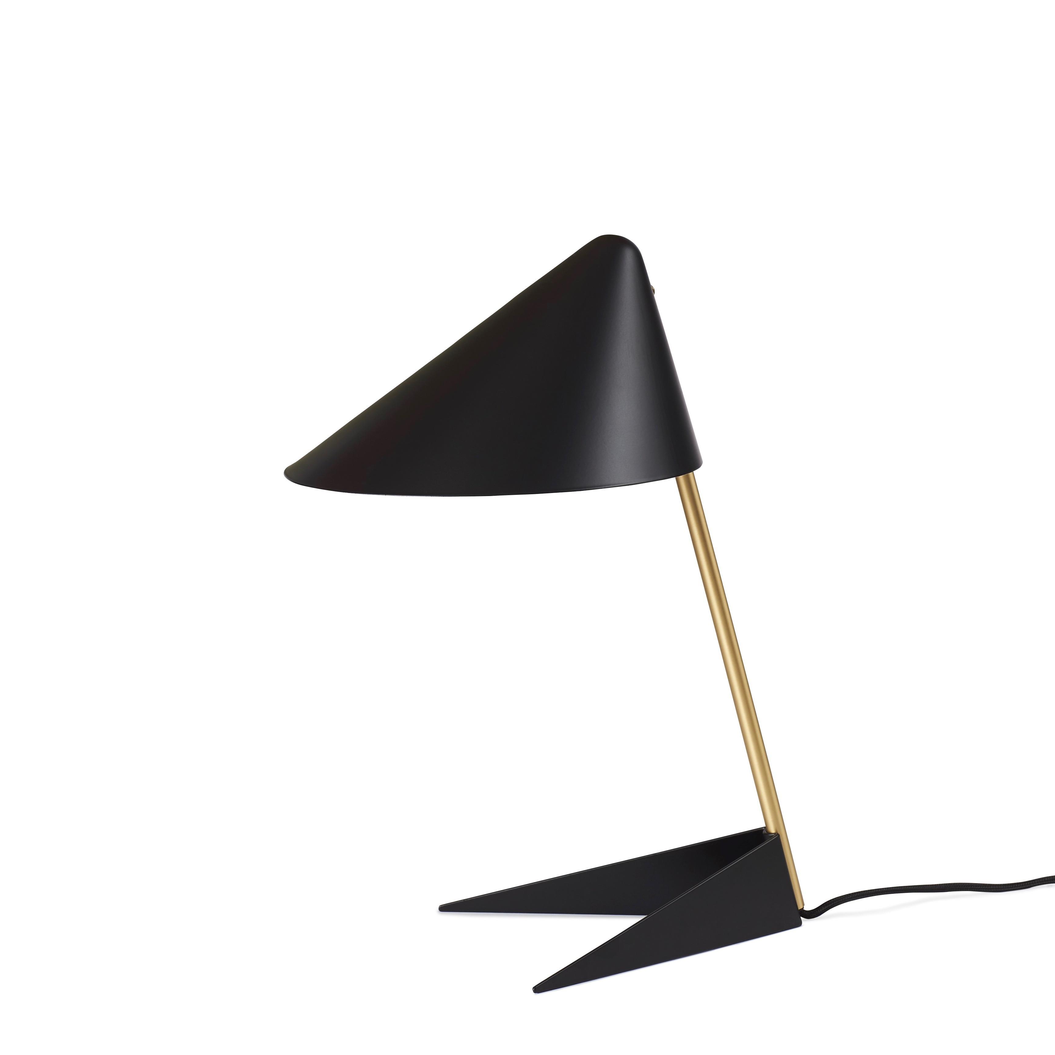 Ambience bordslampa black noir/brass