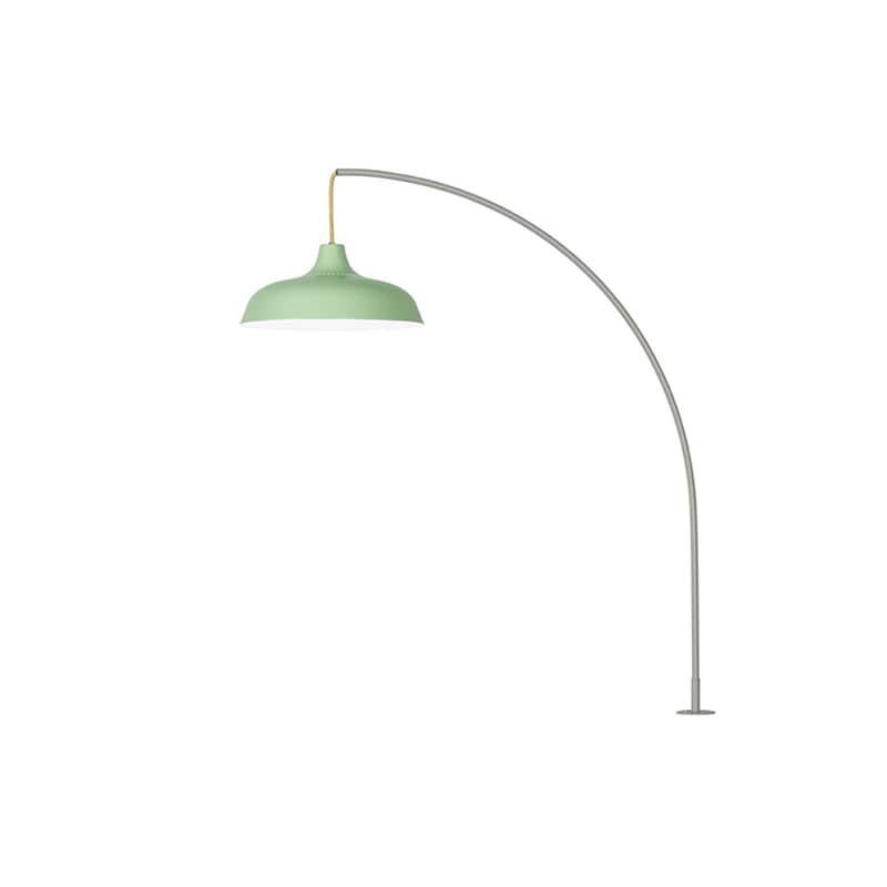Arch bordslampa med klämfäste grön