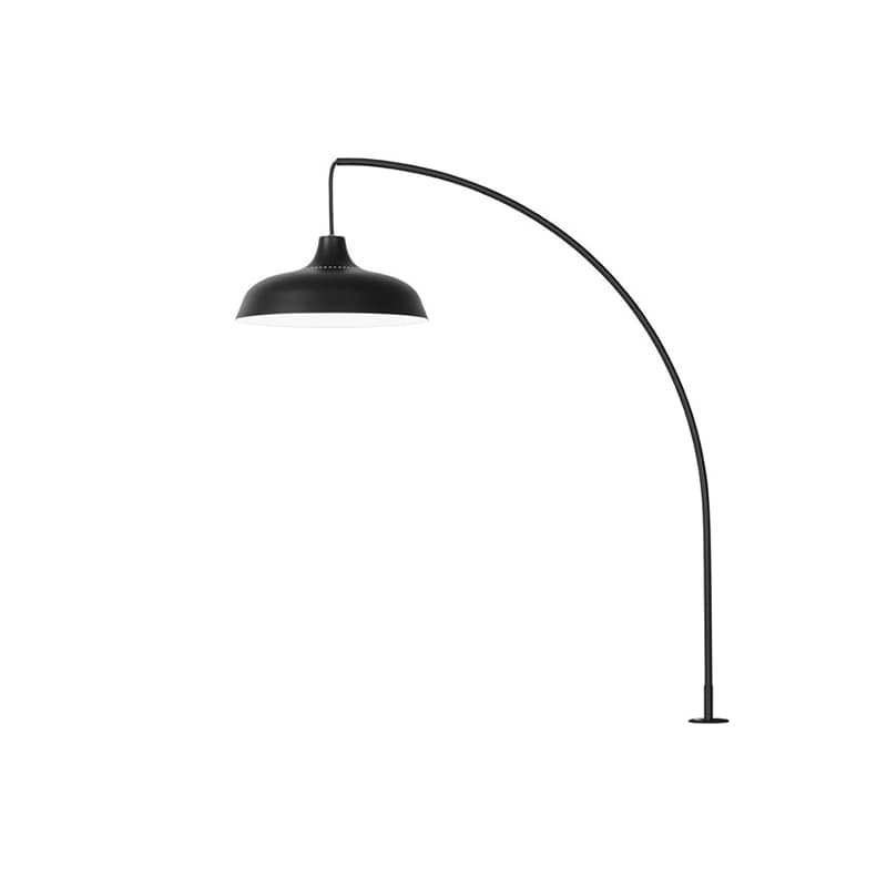Arch bordslampa med klämfäste svart