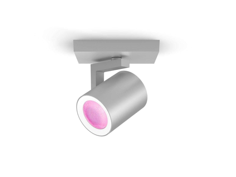 Argenta Hue Single Spotlight Aluminium