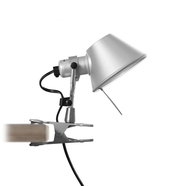 Tolomeo micro Pinza klämlampa aluminium