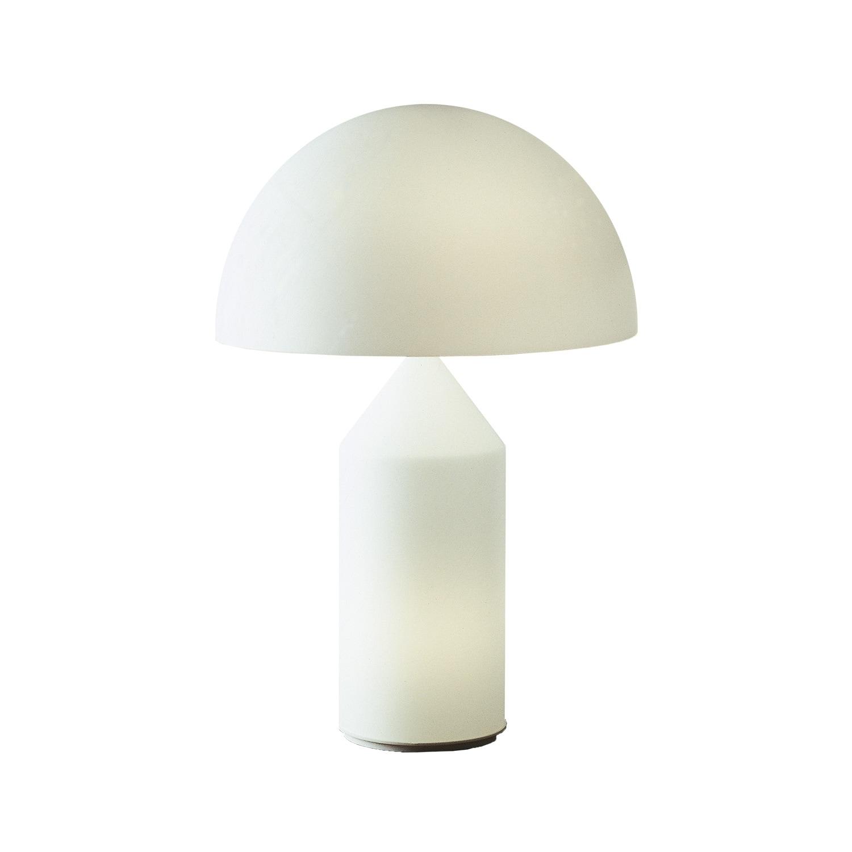 Atollo 236 Bordslampa opalglas